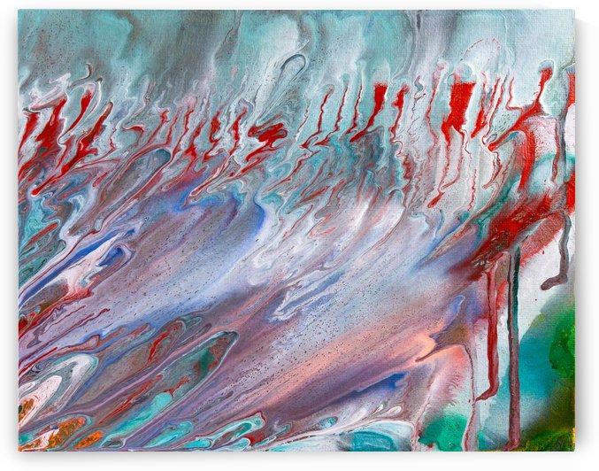 STREAMS OF SCARLET by behzad masoumi