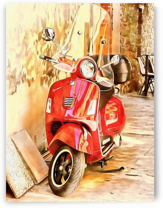 The Red Vespa by Dorothy Berry-Lound