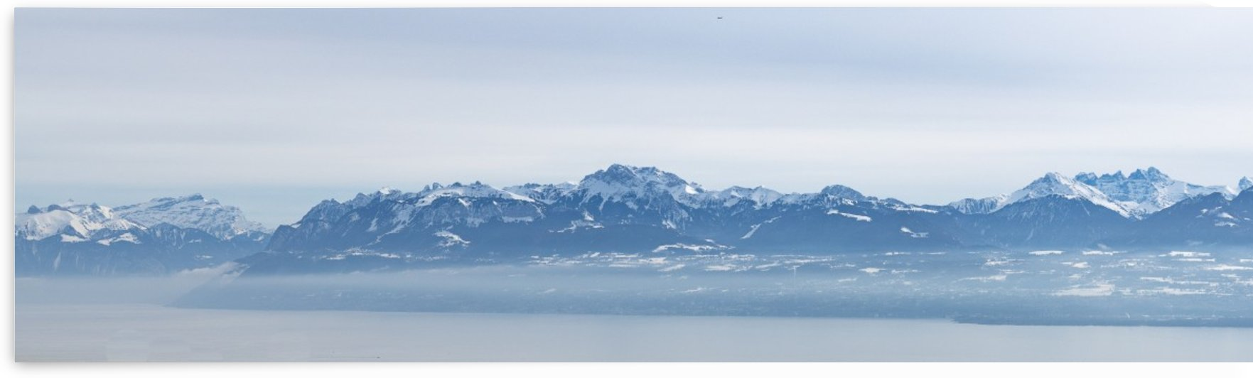 Lake Geneva and Alps by Per-Anders Gunnarsson