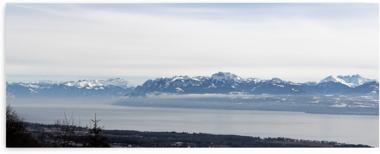 Lake Geneva and Alps by Per-Anders Gunnarsson