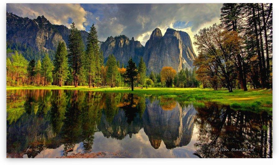 Cathedral Rock Yosemite by James Radford
