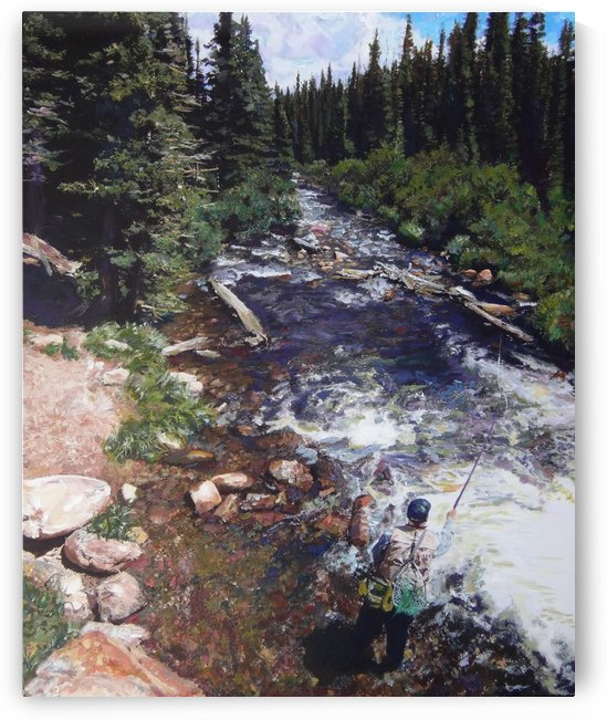 Brainard Lake Fly Fishing by Chris Rutledge
