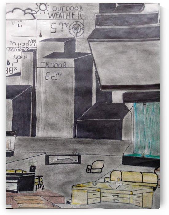 Modern Living Room by Jerritt Bowens