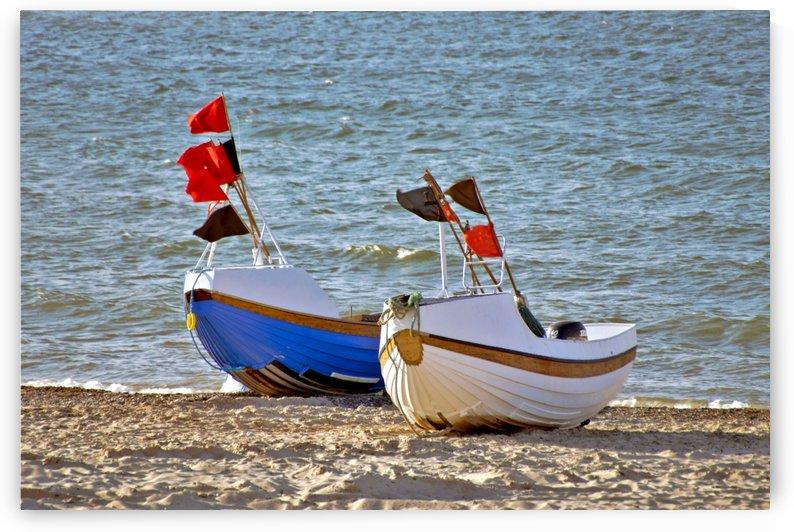 Fishing boats by Kirsten Warner