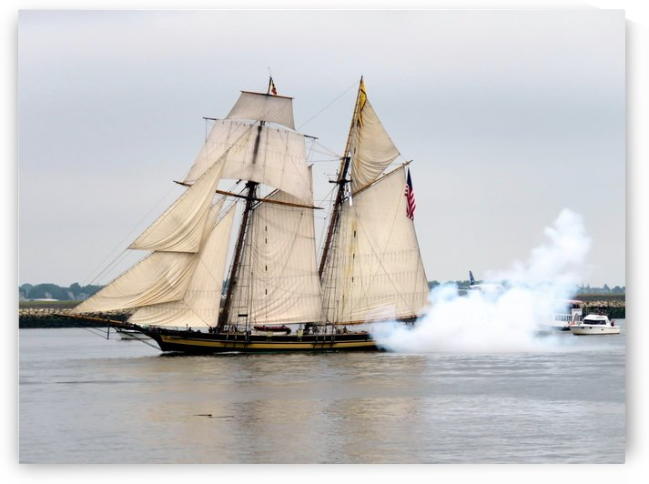 Pride of Baltimore II by Photography by Janice Drew