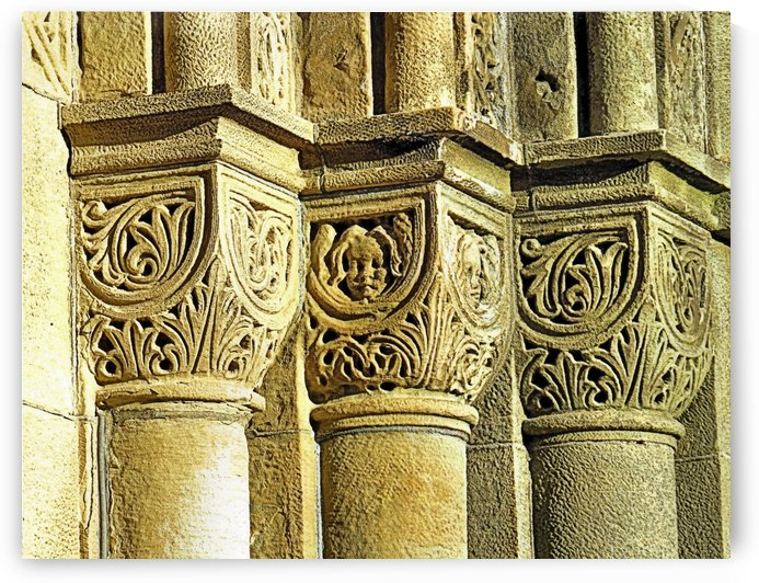 Romanesque Style by Photography by Janice Drew