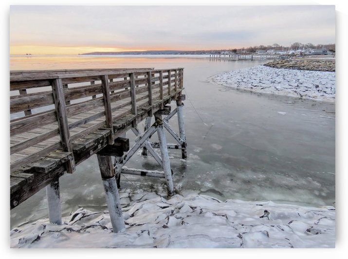 Icy harbor by Photography by Janice Drew