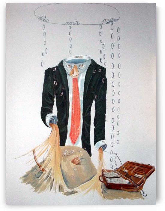 The weariness by Lazaro Hurtado
