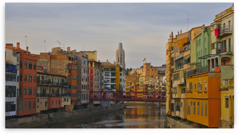 Girona Sunset by Chamma