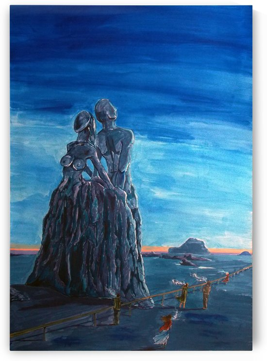 Emotional fossils by Lazaro Hurtado
