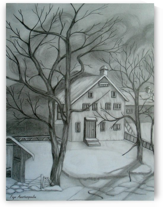 A Cold Day by Faye Anastasopoulou