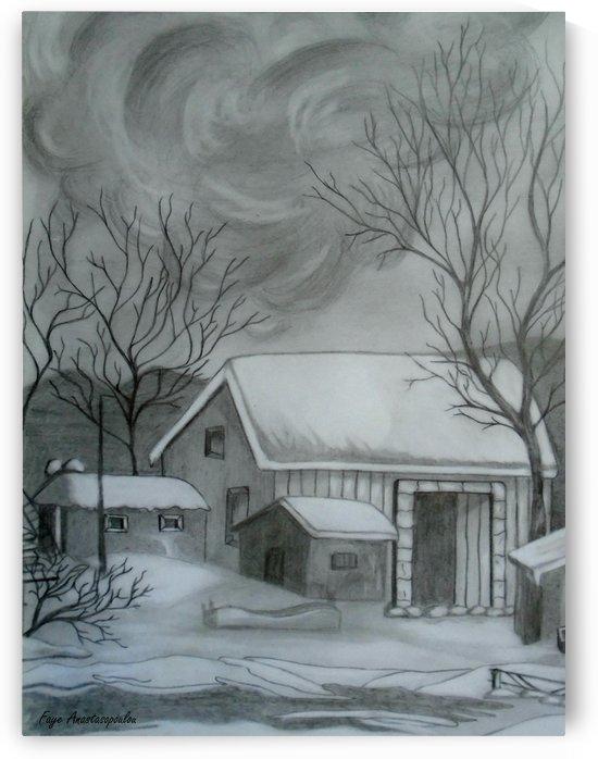 Winter Scene by Faye Anastasopoulou