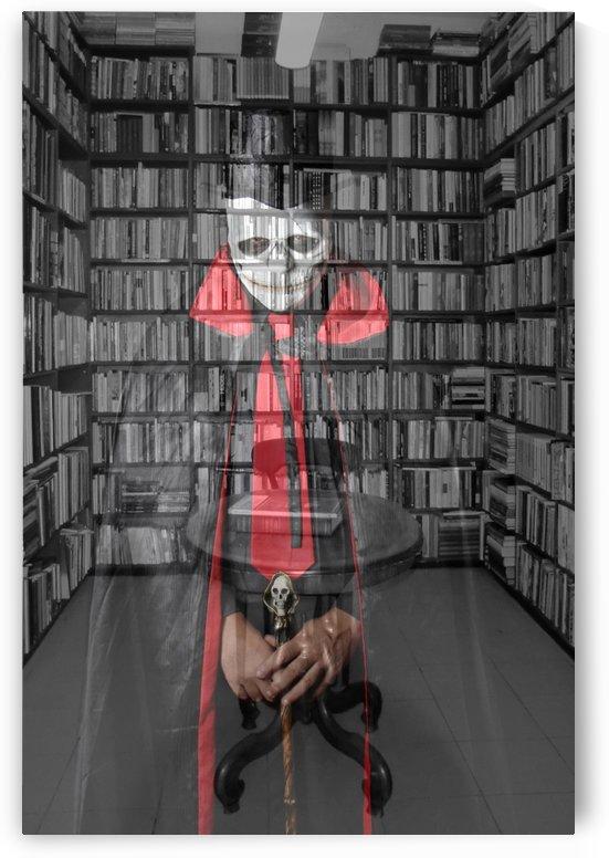Death vs Library by Luiz Lima
