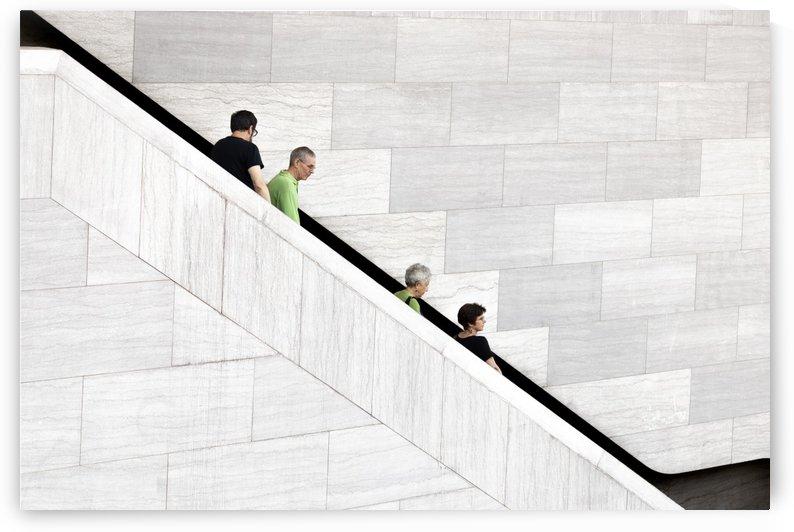 Down stairs by Klaus Balzano