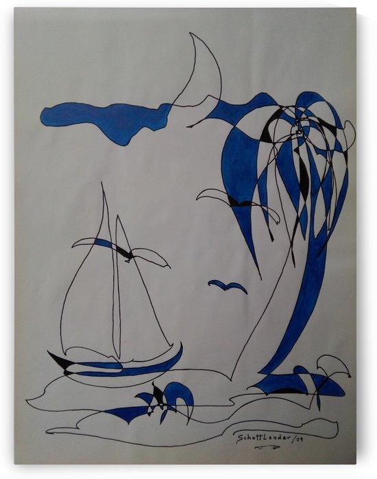 BLUE ISLAND by SCHOTTLENDER