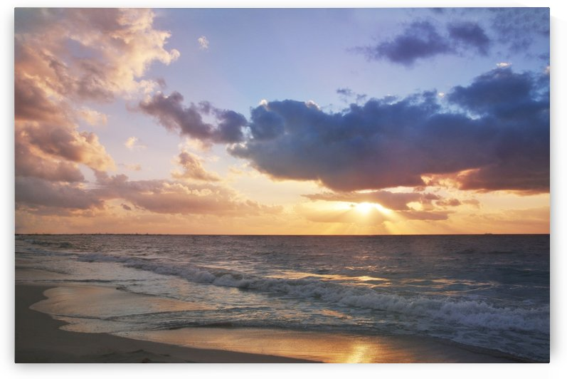 Caribbean Sunrise by Alexandra Draghici