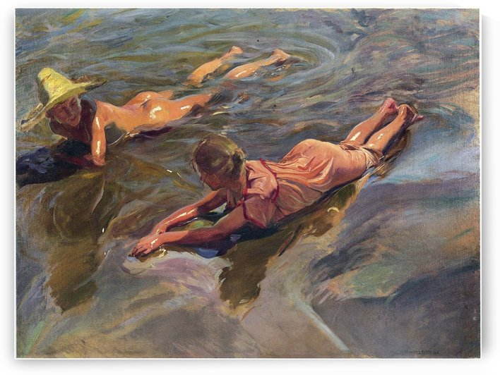 Sea idyll by Joaquin Sorolla