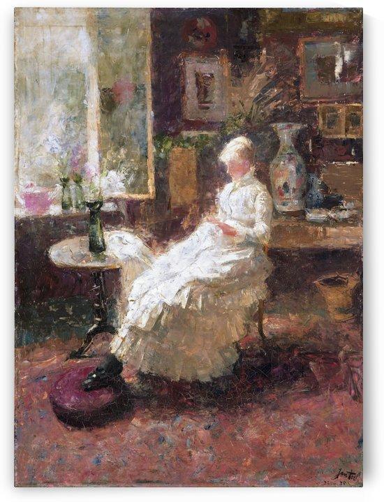 Annie Hall in Lissadell by Jan Toorop