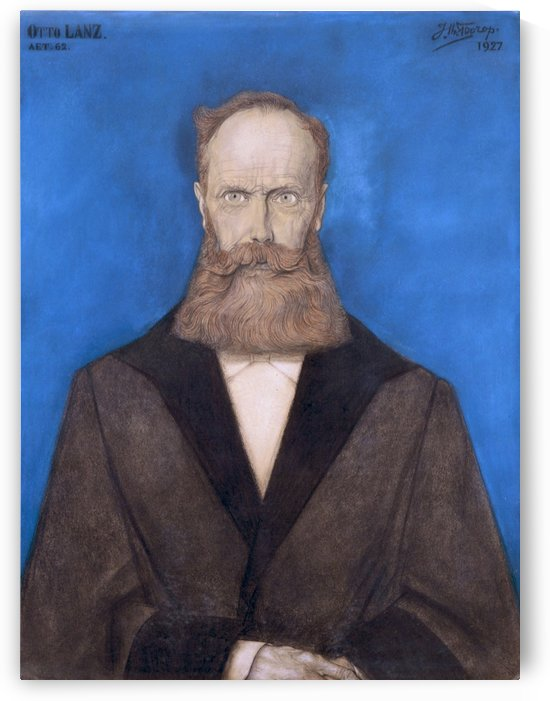 Otto Lanz by Jan Toorop