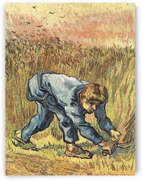 The sower with sickle by Van Gogh by Van Gogh