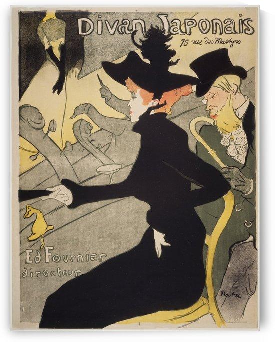 Divan Japonais by Henri de Toulouse-Lautrec
