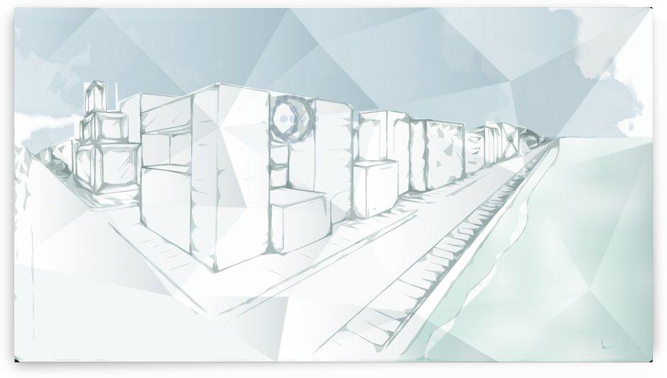 Futuristic City vol 2 by ANASTASIA SKARLATOUDI