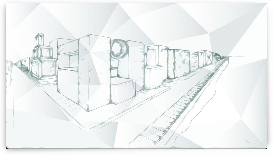 Futurist City vol 1 by ANASTASIA SKARLATOUDI