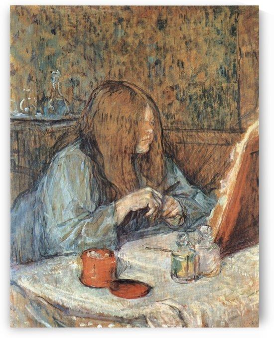 Madame Poupoule by Henri de Toulouse-Lautrec