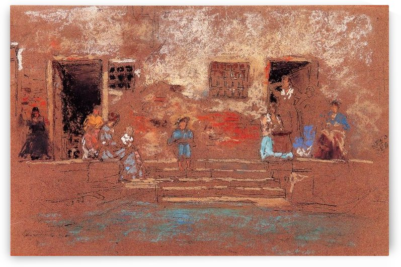 The Steps by Whistler by Whistler