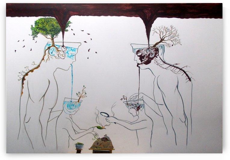 roots of reflexion by Lazaro Hurtado