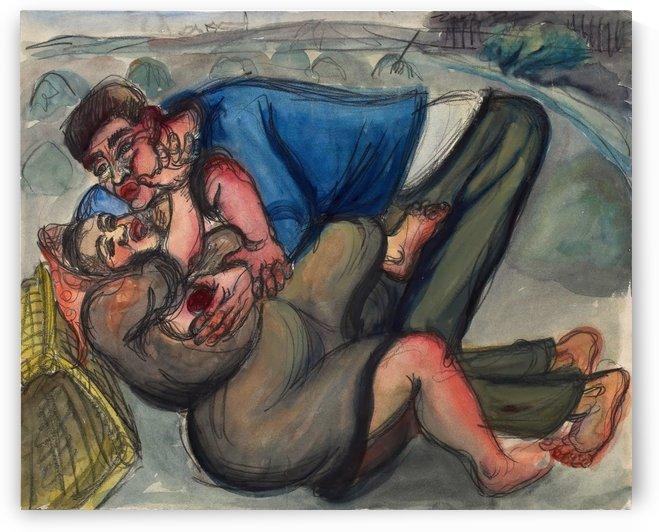 The couple by Elfriede Lohse-Wachtler