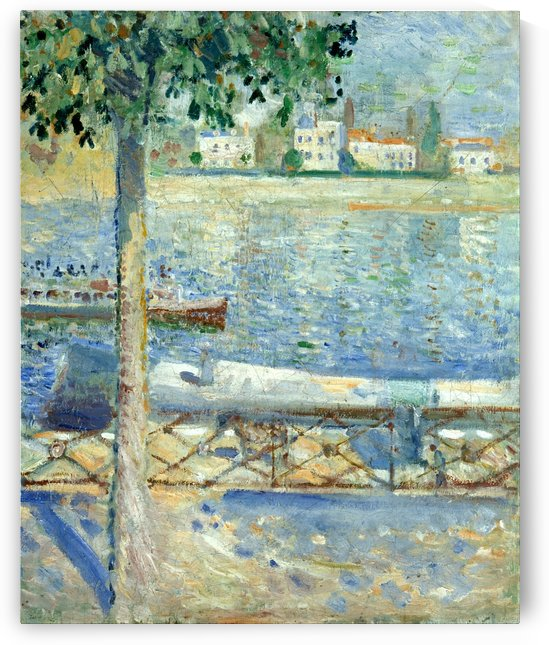 The Seine at Saint-Cloud by Edvard Munch