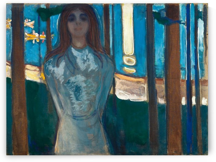The Voice , Summer Night by Edvard Munch