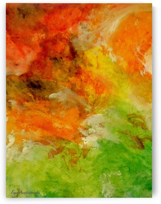 Earth On Fire by Faye Anastasopoulou