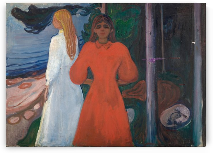Red and White by Edvard Munch