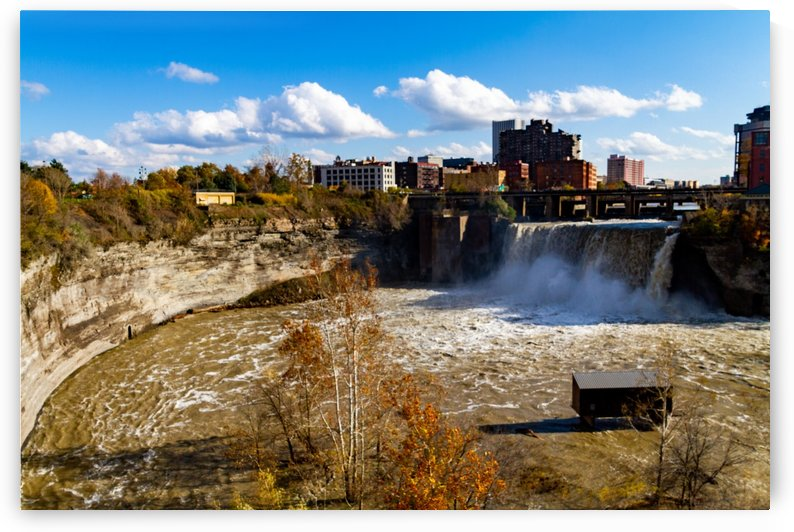 High Falls Gorge  by William Norton Photography