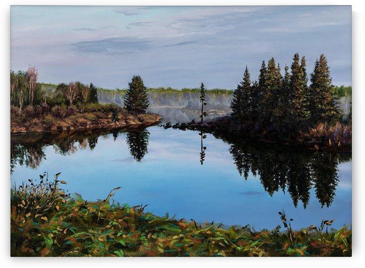 Burnt Stick Lake by Dean Miller