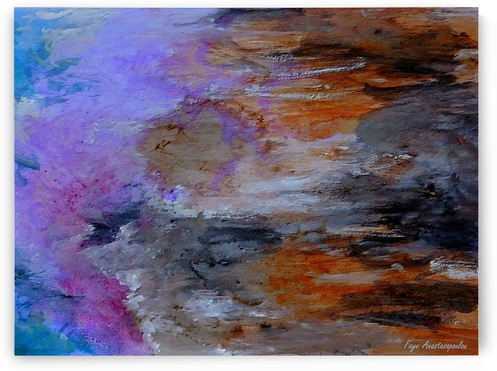 Colorful Coast by Faye Anastasopoulou
