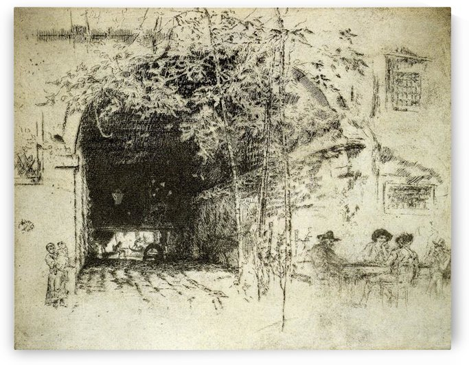 The Traghetto No 2 by Whistler by Whistler