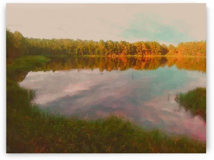 Melancholy Lake by Kala