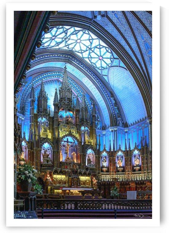 Basilique Notre-Dame Montréal by Jean-Louis Desrosiers