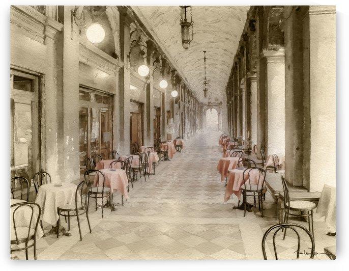 Café Place Saint-Marc Venise by Jean-Louis Desrosiers