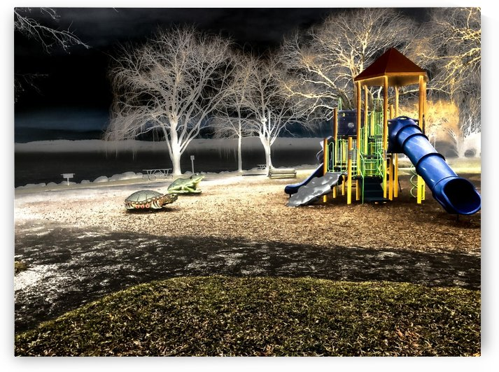 Resting Playground by William Norton Photography