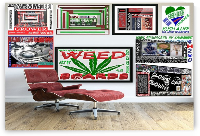 WEED BOARDS by KING THOMAS MIGUEL BOYD