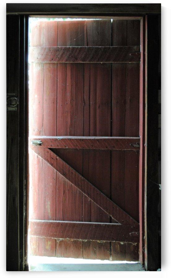 Barn Doors Open by Brent Luke Augustus