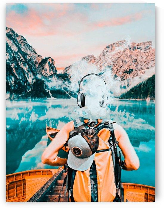 Traveling Tunes by DigitalArtByErin