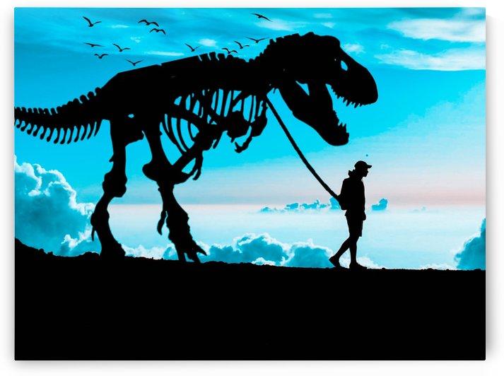 Walking The Extinct by DigitalArtByErin