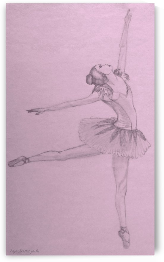 Ballet Dancer by Faye Anastasopoulou