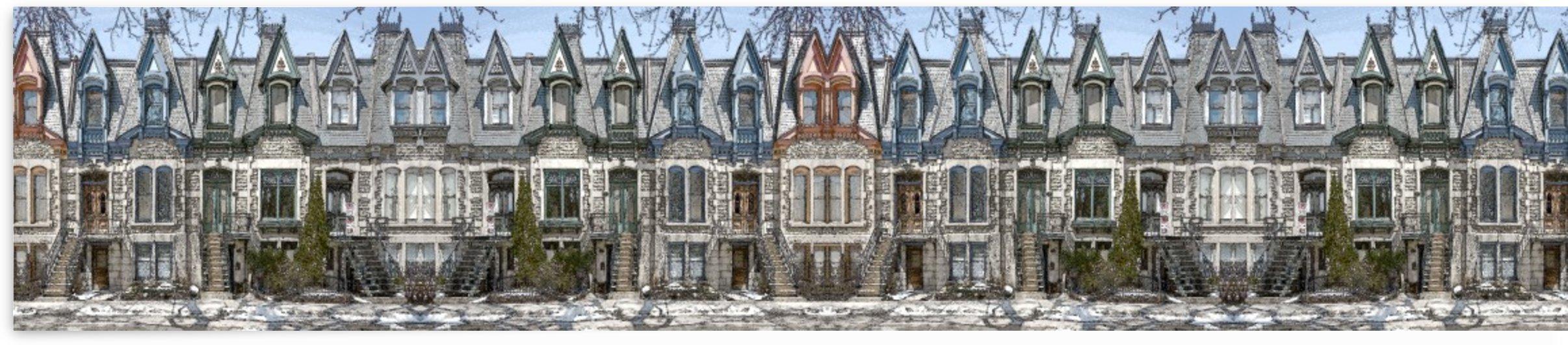 Square Saint-Louis MOntreal by Jean-Louis Desrosiers