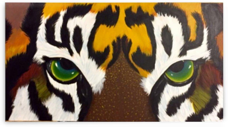 Tiger Eyes by Deborah Brandao